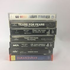 7 Lot 80s Cassette Tapes Duran Duran Crowded House FYC Tears for Fears #AlternativeIndie