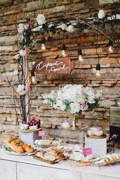 wedding food фуршет