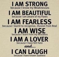 I am Strong...