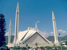 Shah Faisal Masjid – Islamabad, Pakistan