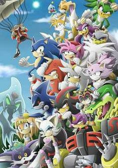 Sonic and frens