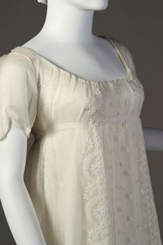 Dress (detail) ca. 1804-11From the Kent State University Museum...