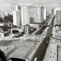 1968-1970 - Duplicação da rua da Consolação, construção do elevado Costa e Silva…