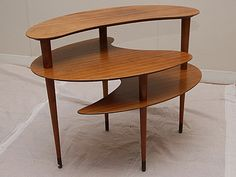 3 Tiered Kidney Shaped Coffee Table 600 Reside