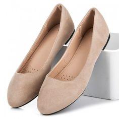 Dámské baleríny Zemery béžové AKCE – béžová Na příjemné večerní procházky, ale i na pracovní schůzky. Krásné a jednoduché dámské baleríny s klasickým střihem jsou velmi příjemné. Baleríny se snadno oblékají a lze je nosit … Ballerina, Flats, Shoes, Fashion, Loafers & Slip Ons, Moda, Zapatos, Shoes Outlet, La Mode