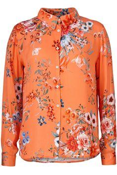 Orangemønstret skjorte Gustav Denmark - 26657-7194
