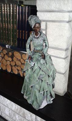 African American Figurines, African American Art, Paper Mache Sculpture, Soft Sculpture, Clay Dolls, Art Dolls, Barbie Mode, Mannequin Art, Spiritual Decor