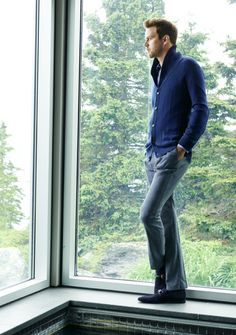 Style tip: Trade in that suit jacket for a comfy cardigan, Tasso Elba