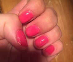 Pink Daisy #sensationail #gelpolish #nails