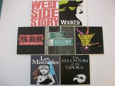 Broadway Tile Coasters