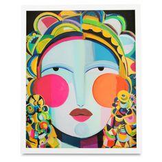 Ana Print, $105, 16 x 20