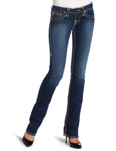76ad53ee098 True Religion Women s Billy Chestnut Super T Jean