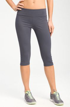 Zella 'Live In' Capri Pants available at #Nordstrom...MOST favorite work out pants! Need to get myself a few pair during the sale!