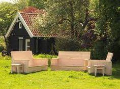 Afbeeldingsresultaat voor houten tuinmeubelen