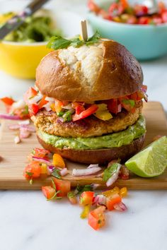 Chicken burgers are somewhat notorious for being dry, but this delicious weeknight dinner recipe has a smart tip for ensuring a juicy, flavorful burger every time. Can you guess what it is?