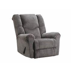 Red Barrel Studio Deshawn Recliner Upholstery: Gray, Recliner Type: Manual