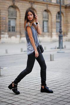 Fashionvibe » Zina Charkoplia Fashion Blog » Paris