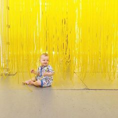 A museum is a cool outing on a hot summer day. LACMA Thanks for the adorable picture @ohlovelyday #museumkids #zutano #romper #LACMA #staycool