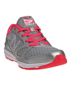 Take a look at this Silver & Red WX577 Cross-Training Shoe - Women by New Balance on #zulily today!