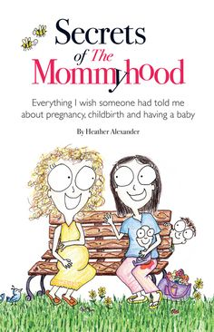 Secrets of The Mommyhood Book for New Moms - Perfect gift for the Mom-to-be!