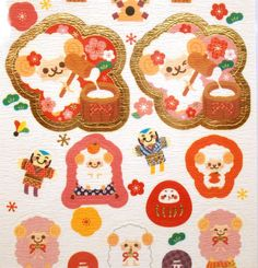 Year of the Sheep Stickers  2015 S166 Making by FromJapanWithLove