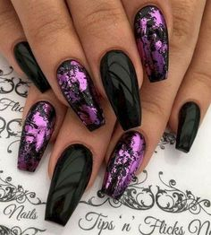 You should stay up to date with the latest nail designs nail colors . - You should stay up to date with the latest nail designs nail colors acrylic nails nail art - Different Nail Designs, New Nail Designs, Purple Nail Designs, Purple Nails With Design, Awesome Nail Designs, Acrylic Nails With Design, Acrylic Nail Designs Classy, Fall Designs, Nagellack Design