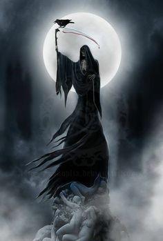 ideas about Grim Reaper Tattoo Death Reaper, Grim Reaper Art, Grim Reaper Tattoo, Don't Fear The Reaper, Dark Gothic, Gothic Art, Dark Fantasy Art, Dark Art, Dark Souls Art