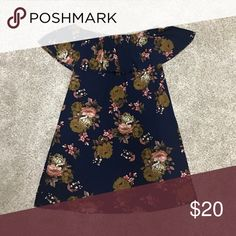 Selling this Off the shoulder floral dress on Poshmark! My username is: msherrin. #shopmycloset #poshmark #fashion #shopping #style #forsale #Dresses & Skirts