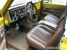 Chevy Blazer K5 - 1972 - Interior