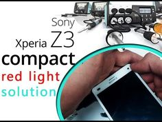 Fix Sony Xperia Z3 Compact Won't Turn on - Red Light flashing Repair | S...