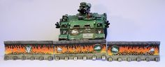 Hey guys, there's the finished Salamanders Razorback. Lotsa pictures and some additional dozer blades aft...