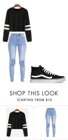 """Untitled #288"" by thenerdyfairy on Polyvore featuring Vans"