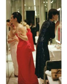 Paloma Picasso & Tina Chow 1978...fiercies on the party circuit..