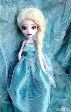 Custom MH Doll - Elsa by unniedolls, via Flickr