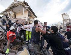 """TITOLI NEWS PAGE: Terremoto centro Italia, le testimonianze: """"Si sen..."""