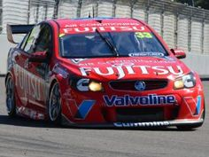 Townsville 400 2013 Day 3. Super V8 qualifying. Scott McLaughlin.