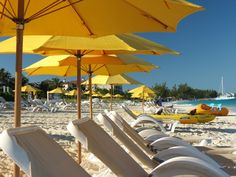 Chairs just waiting for you at The Alexandra Resort, Turks & Caicos. Book an all inclusive trip to Turks & Caicos on www.click2xscape.com