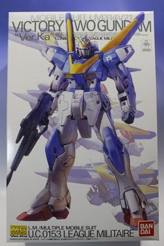 MG 1/100 Victory Two Gundam Ver.Ka: Box Open REVIEW http://www.gunjap.net/site/?p=288673