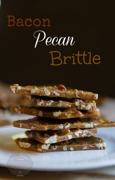 Bacon Pecans and Sugar! OH MY!  This Bacon Pecan Brittle is my new favorite brittle!  #thinkfisher