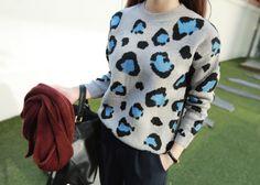 Leopard Print Sweater (2)
