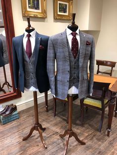 Check out our collection of burgundy suits. This colour looks great as a plain suit, checked suit and tweed suit ___________________________________________   #burgundysuit # bespokesuit weddingsuit #menssuits #menstyleguide #groomstyle #gqstyle #dapperlydone #tailoredsuit #groominspiration #menslaw #weddinginspo #realmenstyle #simplydapper #gentlemenstyle #suitstyle #suitsupply #groomsuit #groomstyle #meninsuits #bespokesuit #mensuitstyle #gqinsider #weddingblog #tweedsuit #bluesuit