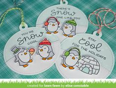 Whimsipost: Lawn Fawn Inspiration Week: Snow Cool