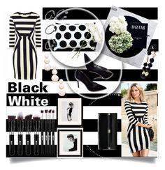 """""""Black And White"""" by selena-gomezlover ❤ liked on Polyvore featuring Diane Von Furstenberg, ASOS, Pillow Decor, OKA, Eichholtz, Auden, women's clothing, women's fashion, women and female"""