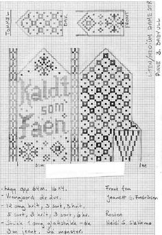 The recipe for cold as hell is moth, here's how many masks and which ones - Easy Yarn Crafts Knitted Mittens Pattern, Fair Isle Knitting Patterns, Knitting Charts, Knitted Gloves, Free Knitting, Easy Yarn Crafts, Knit Stranded, Knitting Projects, Strands