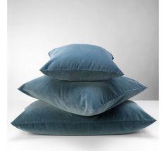 Mille Notti Velluto Putetrekk - Petroleum 65 x 65 cm Urban Industrial, Industrial Farmhouse, Bed Pillows, Cushions, Modern Contemporary, Bean Bag Chair, Shabby Chic, Bomull, Interior