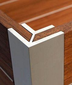 wood/steel detail:
