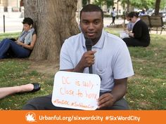DC is really close to home. #sixwordcity