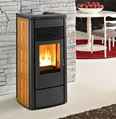Fantastic Free of Charge contemporary Pellet Stove Tips Pellet stoves are a fun way to economize whilst keeping cozy while in people lazy winter months at home. Rv Wood Stove, Wood Pellet Stoves, Camper Stove, Bus Camper, Small Stove, Stove Heater, Multi Fuel Stove, Cooking Stove, Wood Pellets