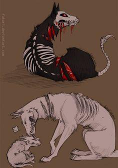Hell Dog by Fukari.deviantart.com on @deviantART