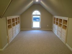 CG Woodwork. Finish attic, built-ins.